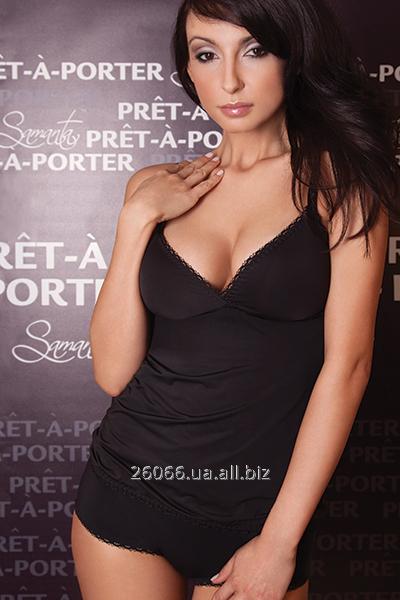 Нижнее белье женское Samanta BIO-black_T23_D200