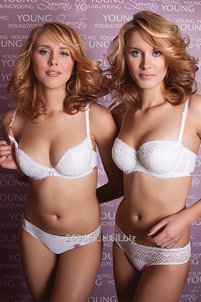 Нижнее белье женское Samanta INTI-white купить в Киеве c7ce40ebce3