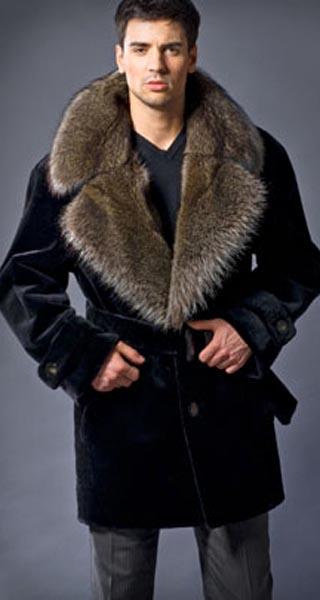 Чоловічі шуби з натурального хутра купити в Харків d6a7a7215f84b