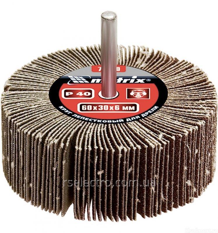 Круг лепестковый для дрели КЛО Р 40 80*30*6 mm