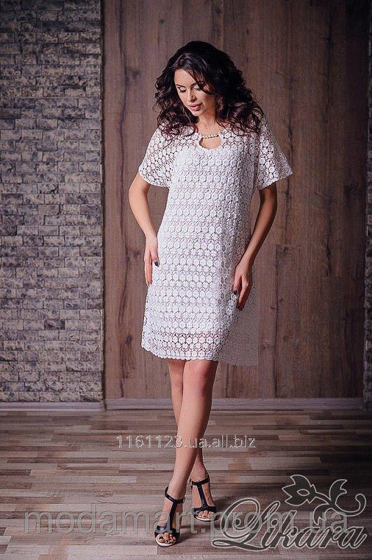3ac4f7092e0 Женское нежное платье из кружева Различные цвета Размер 42