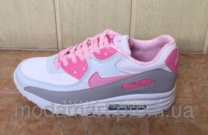 c5dcc7a8 Женские аирмаксы Nike из эко кожи+сетка. Цвет серый. Размер 36-40. YS 1831