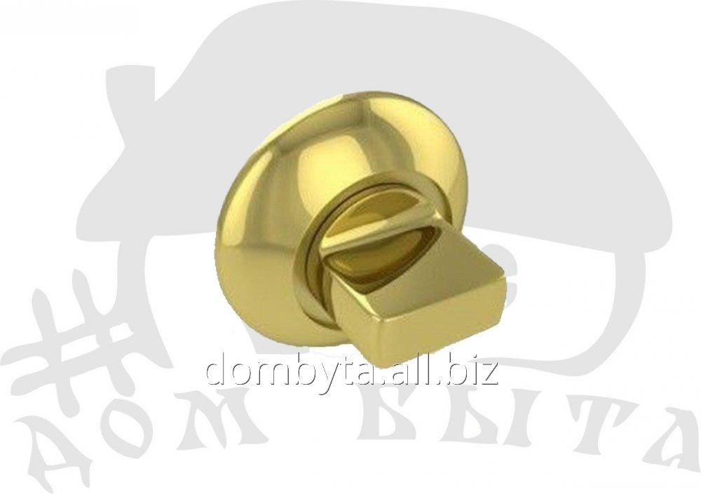 Купить FUARO Дверная ручка поворотная BK6 RM GP/SG-5(круглая) FUARO BK6 RM GP/SG-5