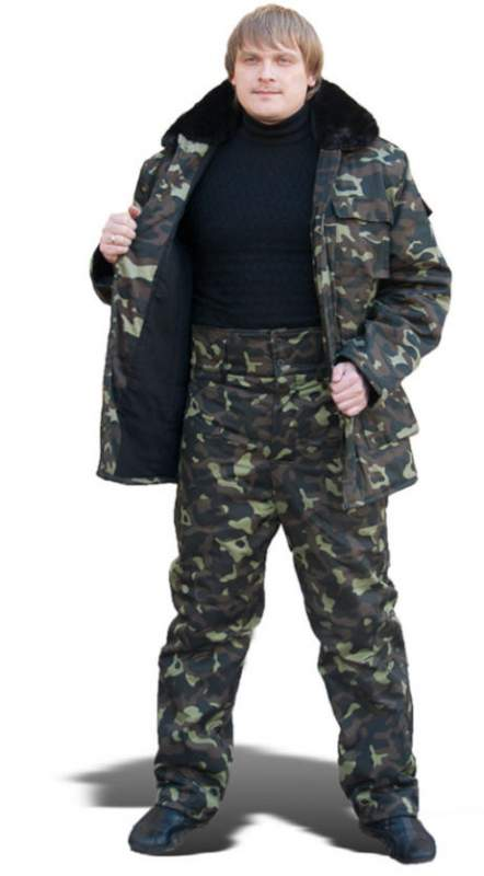 The clothes are camouflage, camouflage