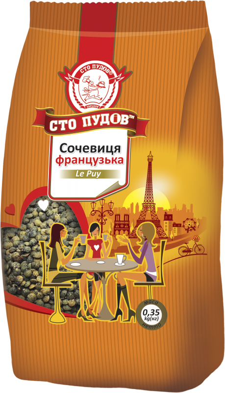 Buy Lentil of the French tiger, 200 g