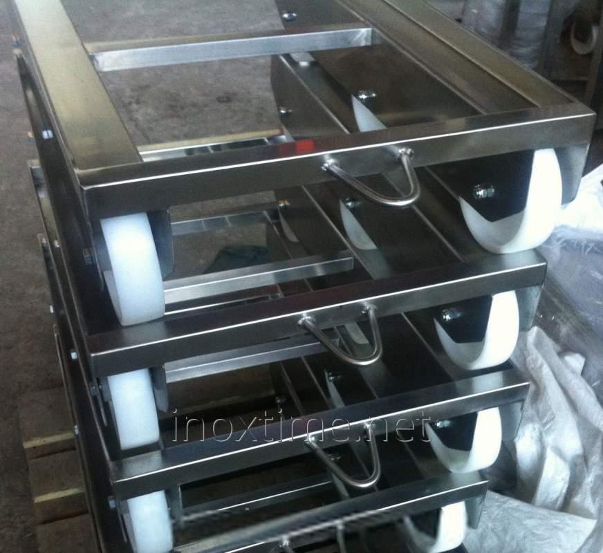 Тележки для ящиков 600*400 (7 кг.)