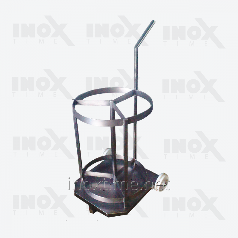 Тележка транспортировочная для коптильных палок (вешала)