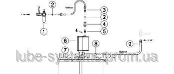 Buy Assembly set for a barrel of 50-60 kg, a code: 99602