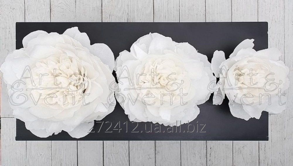 Big Paper Flowers Peony Small