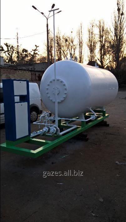 АГЗП модуль пропан-бутан 7,25м3. Украина, Киев