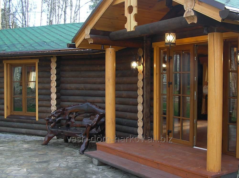 Дом деревянный 0012