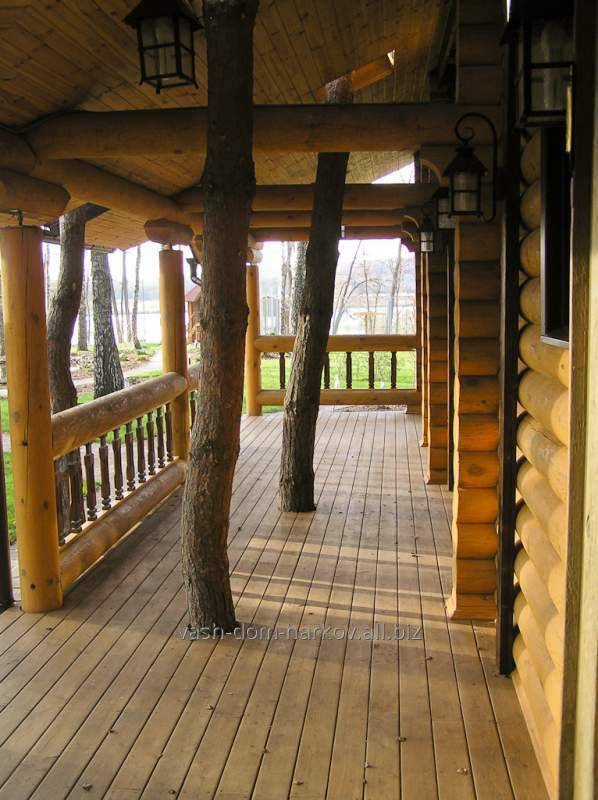Дом деревянный 0014