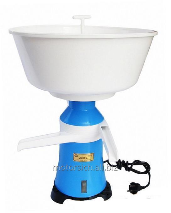 Separator milk Motor-SICH 100-19, cream separator, plastic body