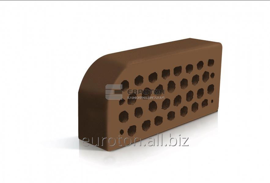 Кирпич фасонный ВФ-5 коричневый