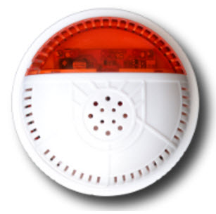 Сирена для охранной беспроводной GSM сигнализации ИНТЕГРАЛ-С-РК