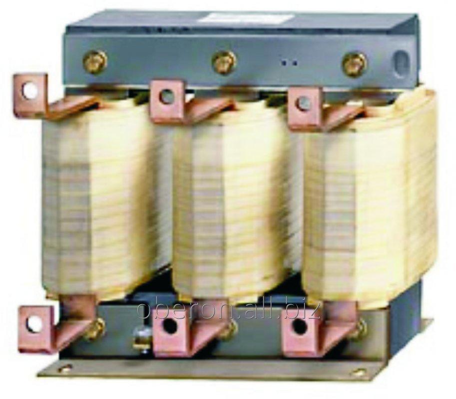 Купить Моторный дроссель 15А, 0,47мГн OCL-0015-ELSC-EM47, для частотного преобразователя 5,5кВт