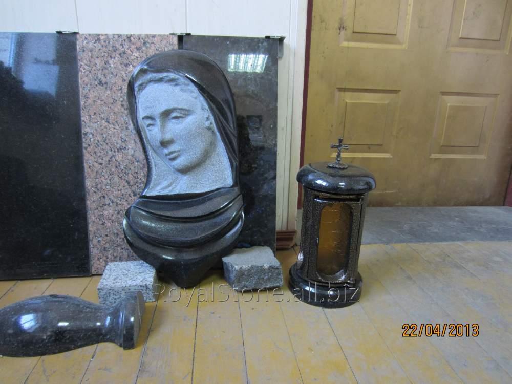 Ритуальная скульптура Мадонна накладка