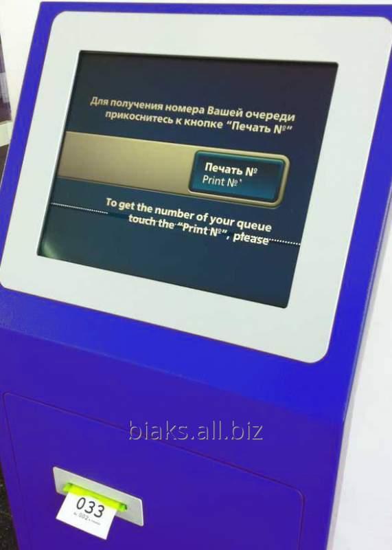 Купить Система очереди на базе сенсорного киоска