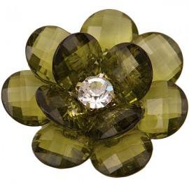 Подхват на магнитах для штор  Цветок Малый модель  Y0001