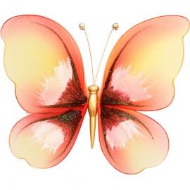 Украшение для штор Бабочка Большая -200*200 С Магнитом модель  A00028