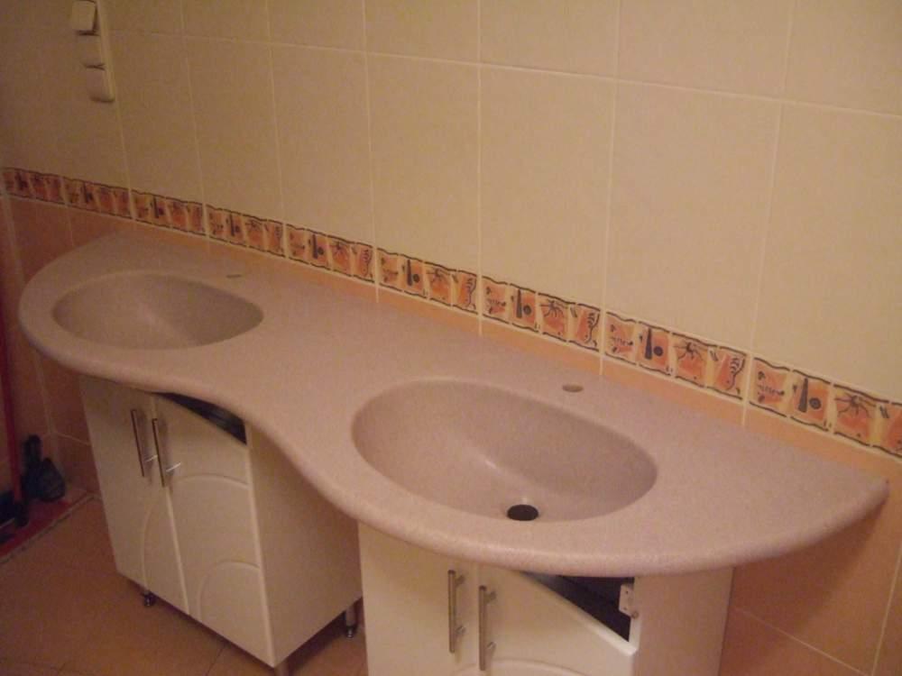 Купити Стільниці у ванну від виробника.