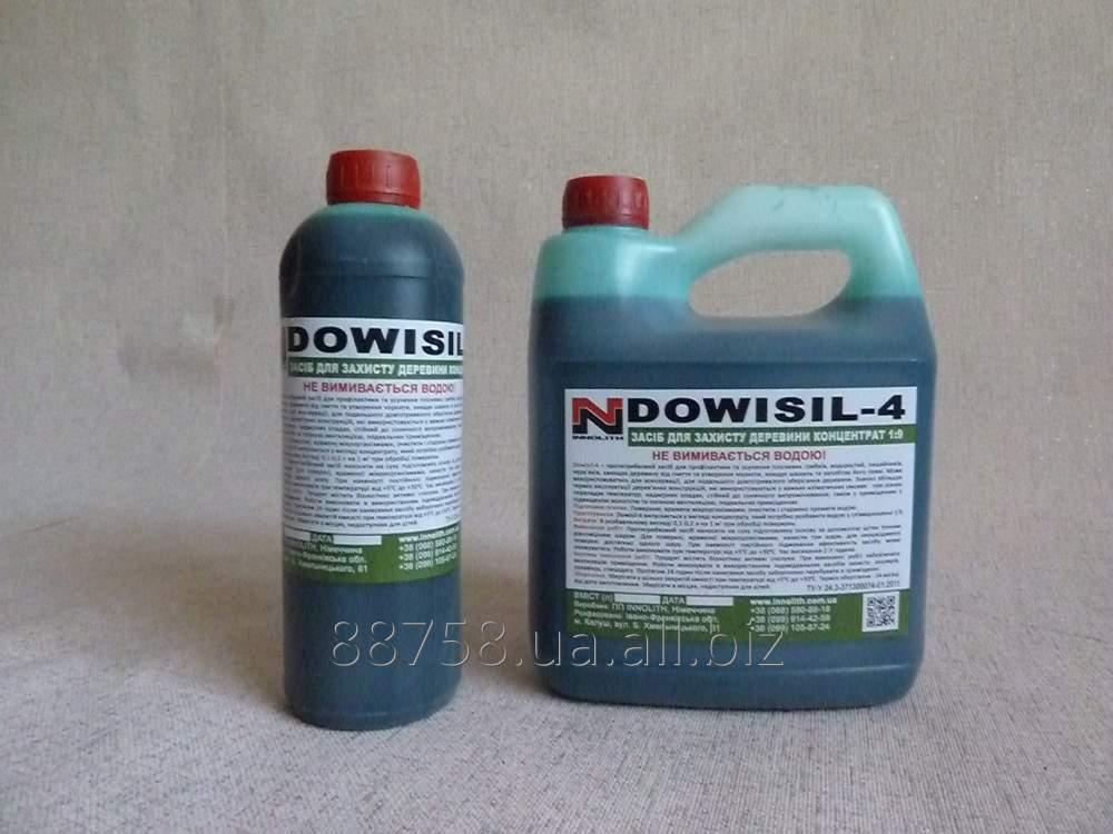 Купить Антисептик для дерева Dowisil - 4 средство для защиты древесины концентрат 1: 9 5л