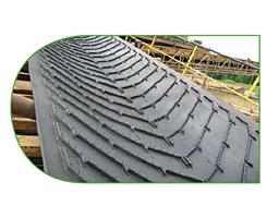 Шевронная конвейерная лента SAVA CHEVRON тип А 15 мм