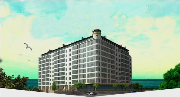 Купить Доходные апартаменты с панорамным видом на море. Затока.