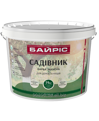 Buy Paint protective for trees and bushes of 14 kg the Gardener Bayris