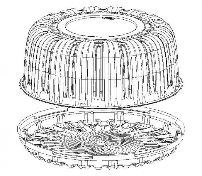 Тортовая упаковка IT-215 для торта 1 кг
