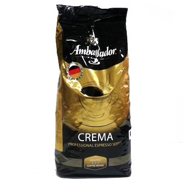 Купить Кофе в зернах Ambassador Crema