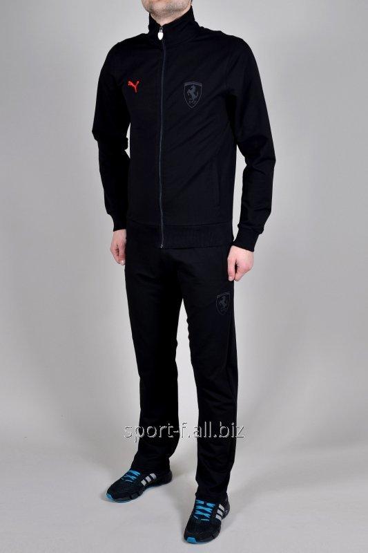 Спортивный костюм Puma Ferrari черный