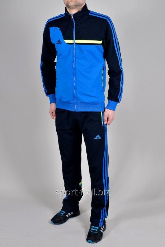 Спортивный костюм Adidas мужской темно-синий