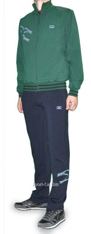 Купить Спортивный костюм MXC зеленый мужской