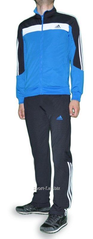 Спортивный костюм Adidas голубой мужской