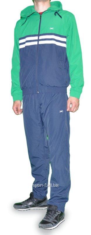 Спортивный костюм MXC синий с зеленым