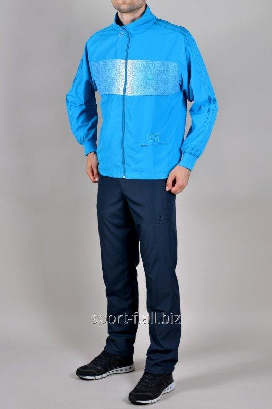 Спортивный костюм Adidas синий с голубым