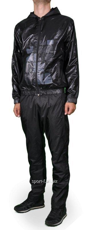Купить Спортивный костюм Nike черный с капюшоном