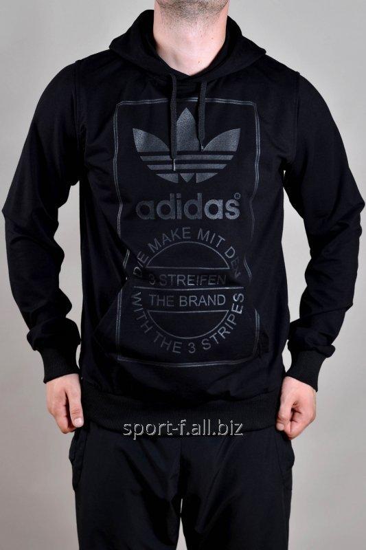 Балахон Adidas черный