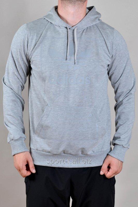 Балахон мужской Adidas серый