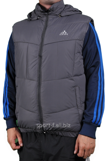 Жилет Adidas серый