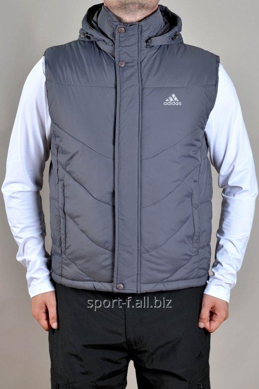 Жилет мужской серый Adidas