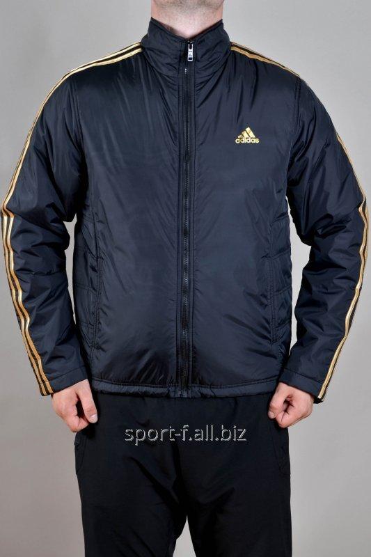 Купить Ветровка черная мужская Adidas