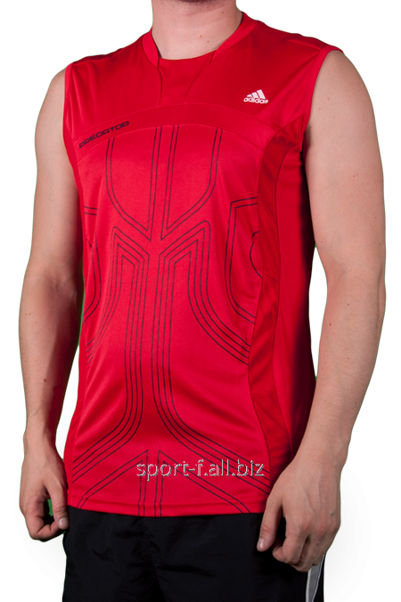 Безрукавка Adidas красная