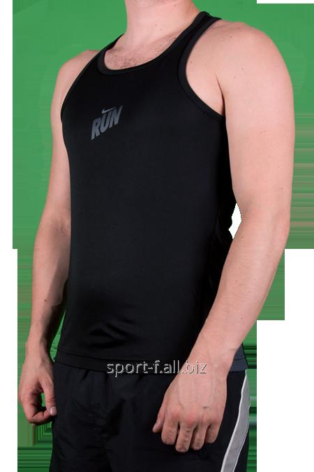 Майка Nike RUN черная мужская
