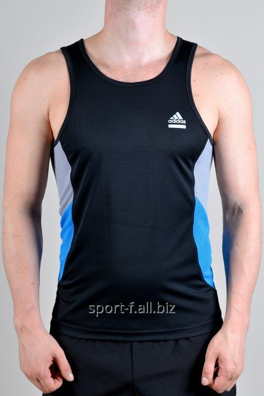 Майка Adidas мужская спортивная черная