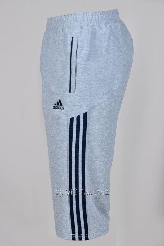 Бриджи Adidas серые