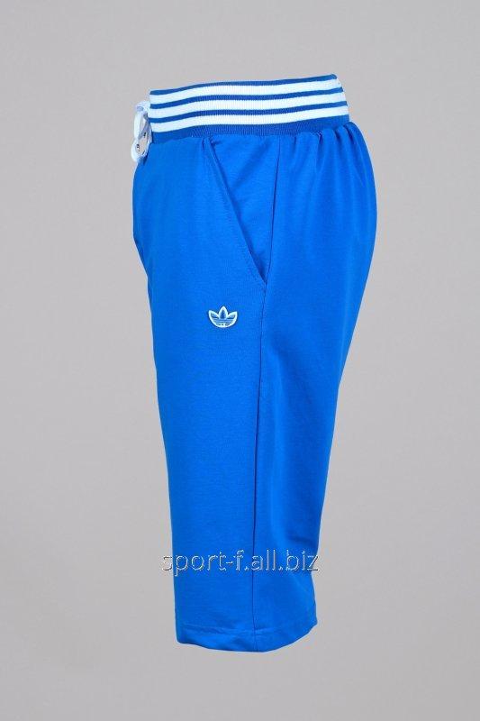 Бриджи Adidas  голубые