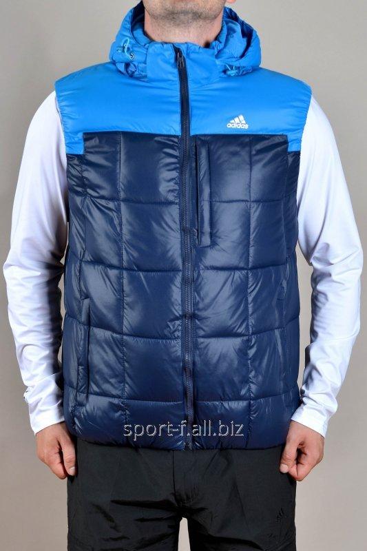 Жилет Adidas синяя
