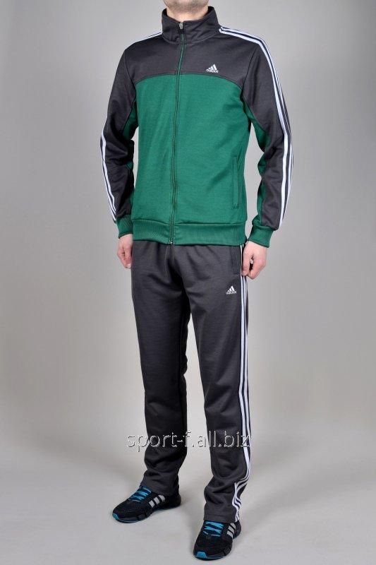 Спортивный костюм Adidas серо-зеленый купить в Днепр 0f5b93087d6